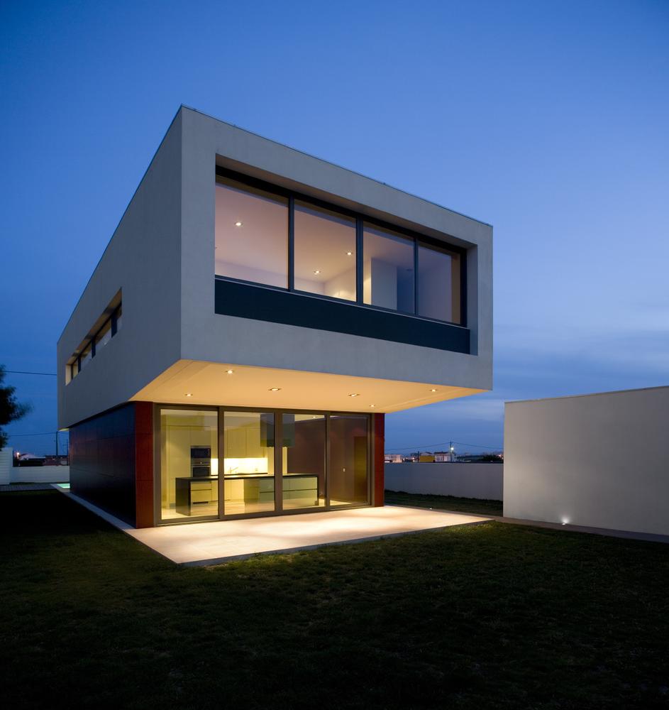 Casa prefabricada tipo cubo