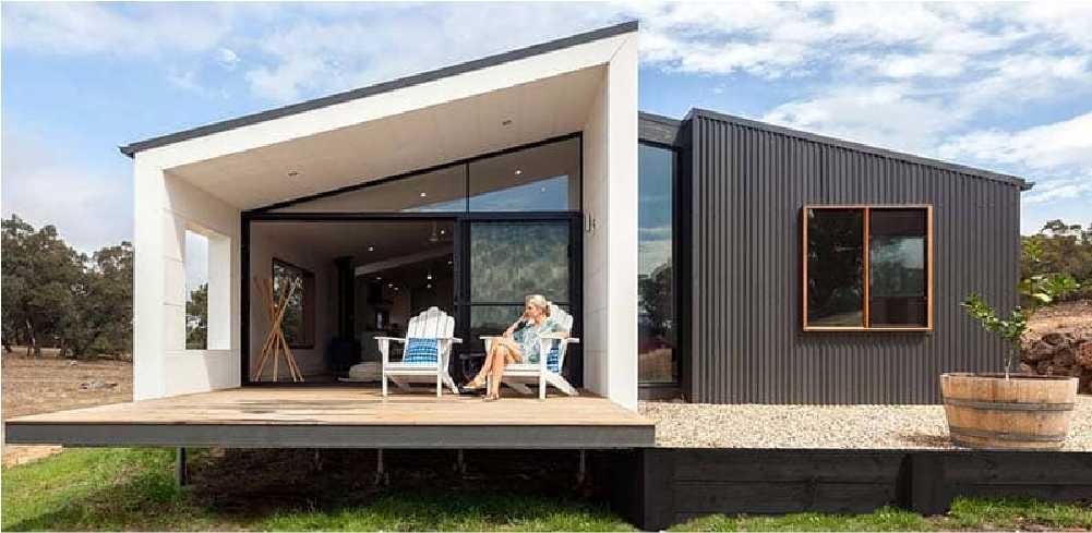 Casa prefabricada campestre